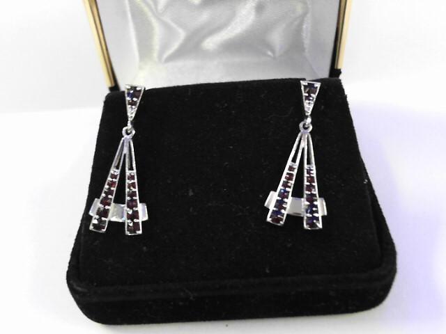 Silver Earrings 925 Silver 2.8dwt