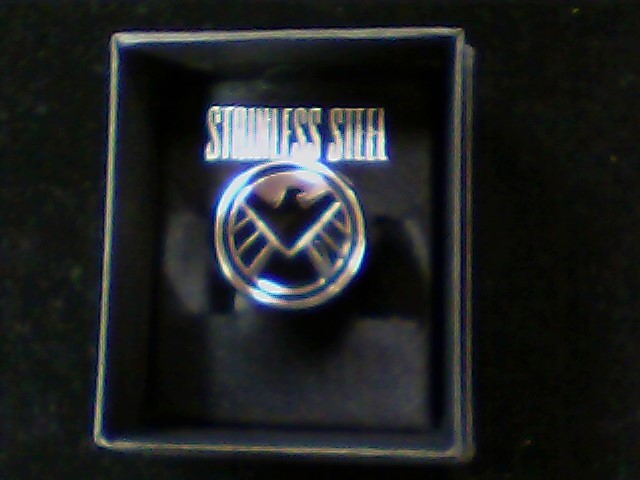 Gent's Ring Silver Stainless 14.5g