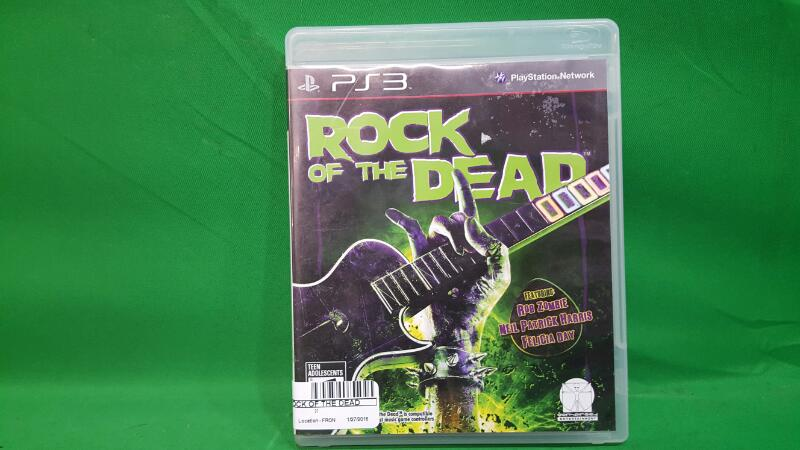 SONY Sony PlayStation 3 Game ROCK OF THE DEAD