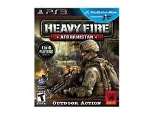 SONY PS3 HEAVY FIRE AFGHANAISTAN