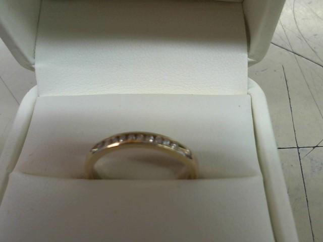 Lady's Diamond Wedding Band 10 Diamonds .20 Carat T.W. 14K Yellow Gold 2.3g