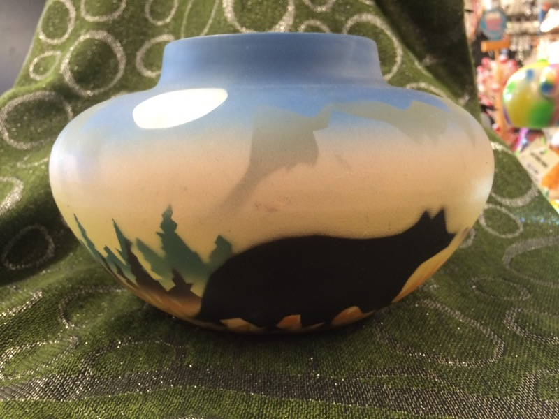 Glass/Pottery POTTERY AIRBRUSHED SET
