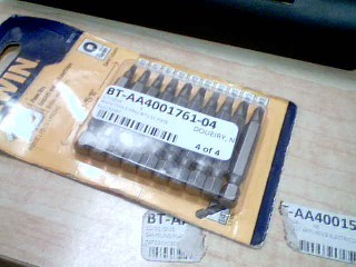 IRWIN TOOLS Drill Bits/Blades 10 PIECE POWER BIT SET 1857003