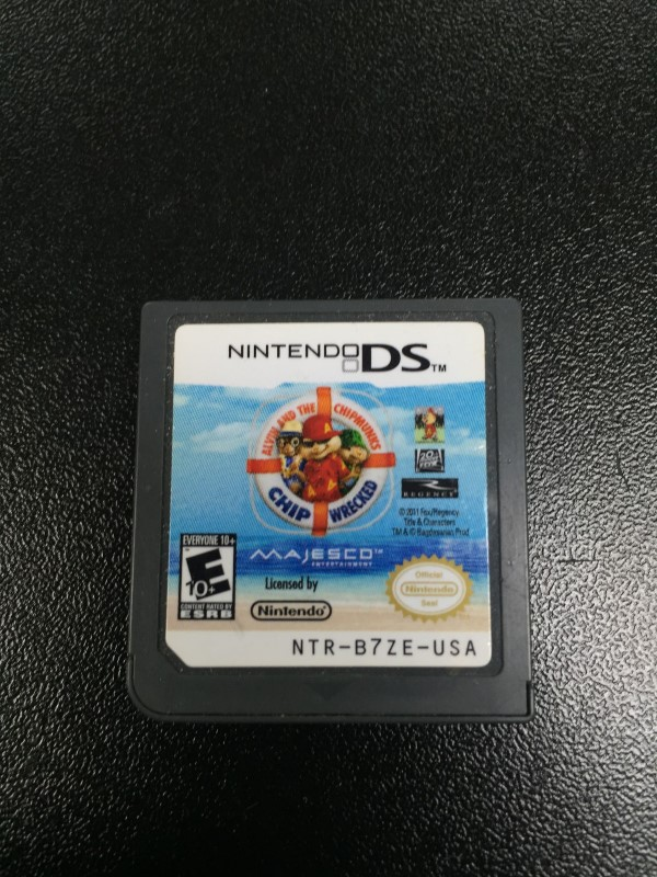 NINTENDO Nintendo DS Game ALVIN AND THE CHIPMUNKS CHIPWRECKED