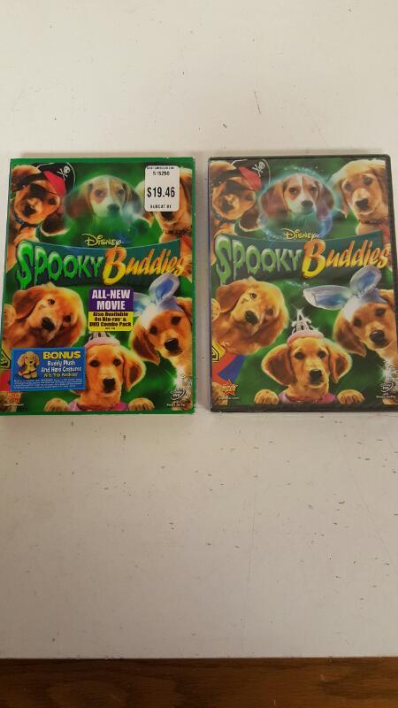 Spooky Buddies (DVD, 2011)