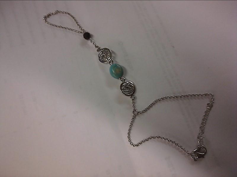 Bracelet Silver Stainless 3.95dwt