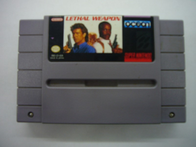 NINTENDO SNES Game LETHAL WEAPON *CARTRIDGE ONLY*