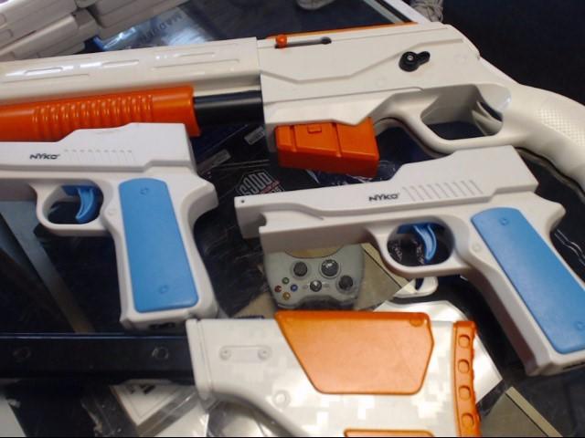 NINTENDO Video Game Accessory WII REMOTE GUN ACCESSORY
