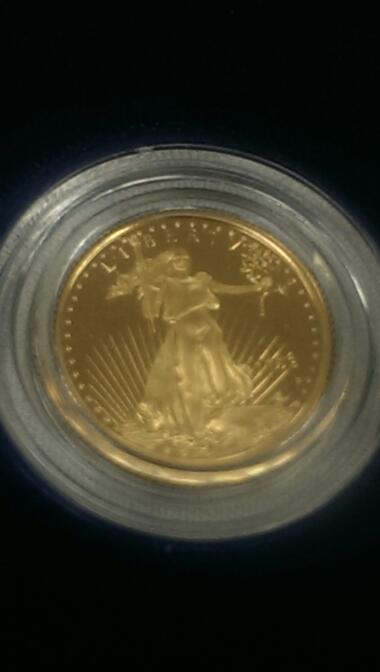 1993 1/10 OZ PROOF GOLD EAGLE