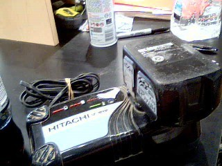 HITACHI Battery/Charger 18V CHARGER BATTERY