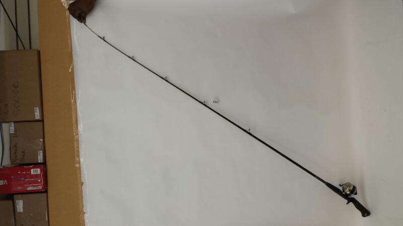 Zebco 33 Reel/ Black Rod