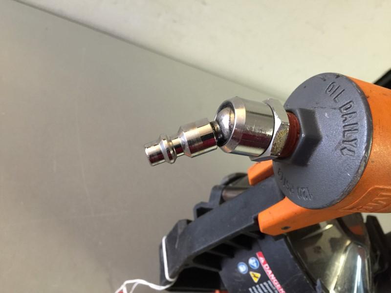 Ridgid R175rnd 1 3 4 In 15 Gauge Roofing Coil Nailer Good