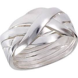 Gent's Silver Ring 925 Silver 3.75dwt