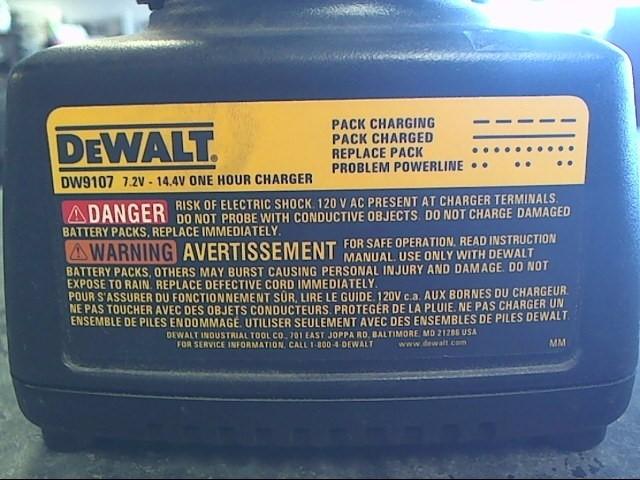 DEWALT Cordless Drill DW9107-CHARGER