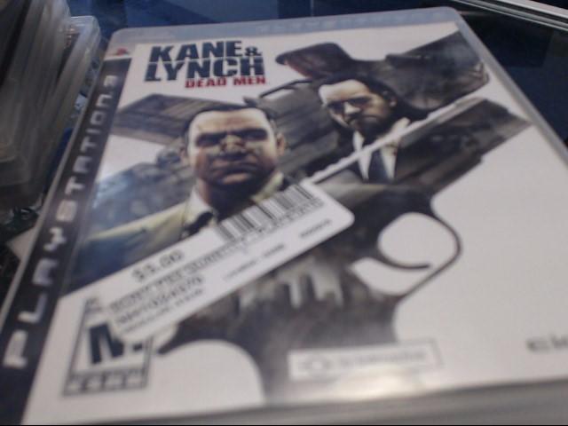 SONY PS3 KANE 7 LYNCH DEAD MEN