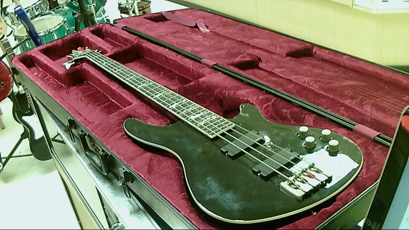 SCHECTER BASS GUITAR C4-XXX BLK