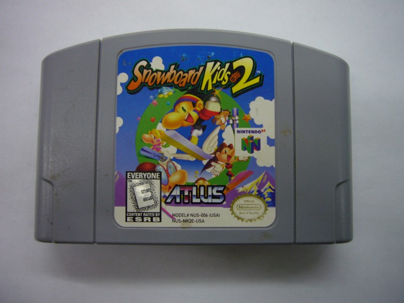 NINTENDO 64 Game SNOWBOARD KIDS 2 *CARTRIDGE ONLY*