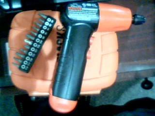BLACK&DECKER Cordless Drill AD600