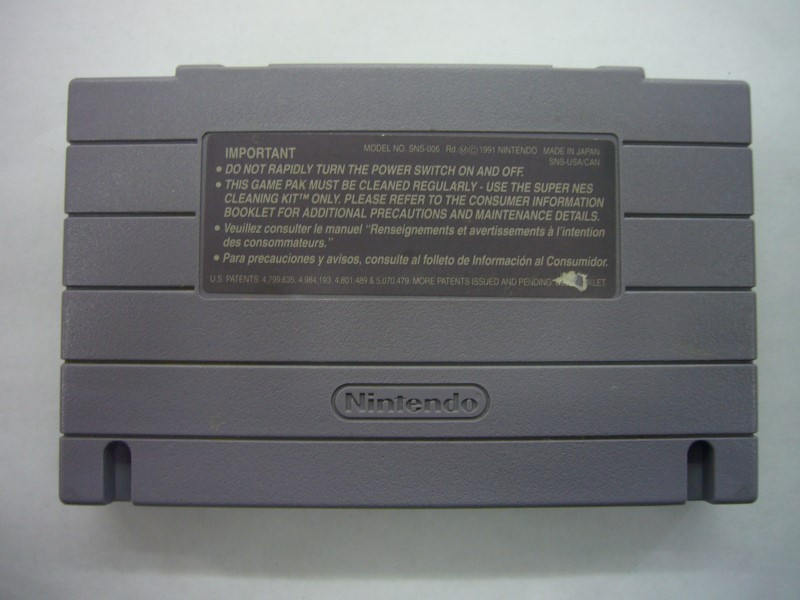 NINTENDO SNES Game SUPER PLAY ACTION FOOTBALL *CARTRIDGE ONLY*