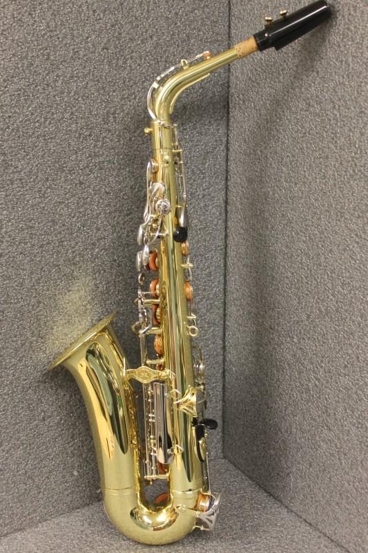Yamaha advantage yas 200ad student alto saxophone like new for Yamaha student saxophone