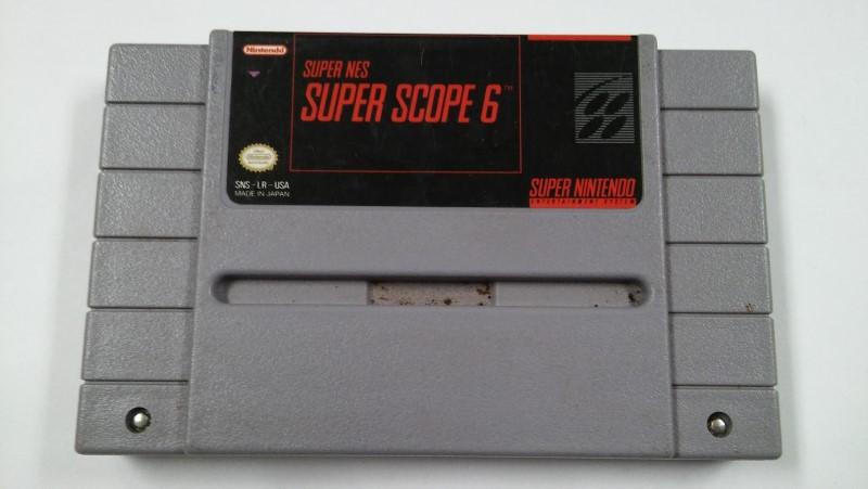 SUPER NINTENDO SNES SUPER SCOPE 6