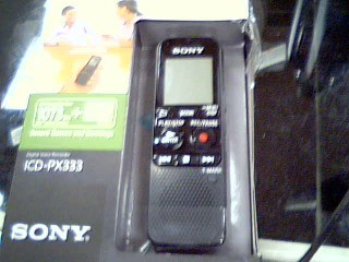 SONY Micro Recorder ICD PX333