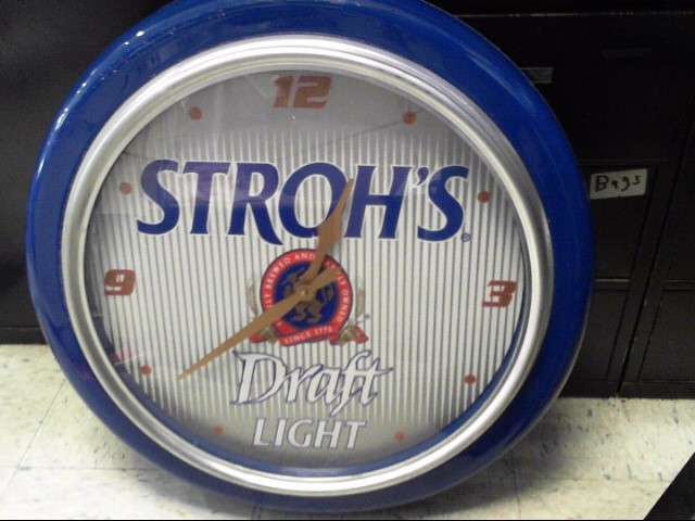 STROH'S Sign BEER SIGN