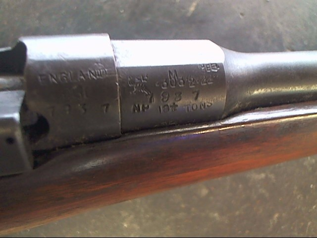 BRITISH ENFIELD Rifle 303