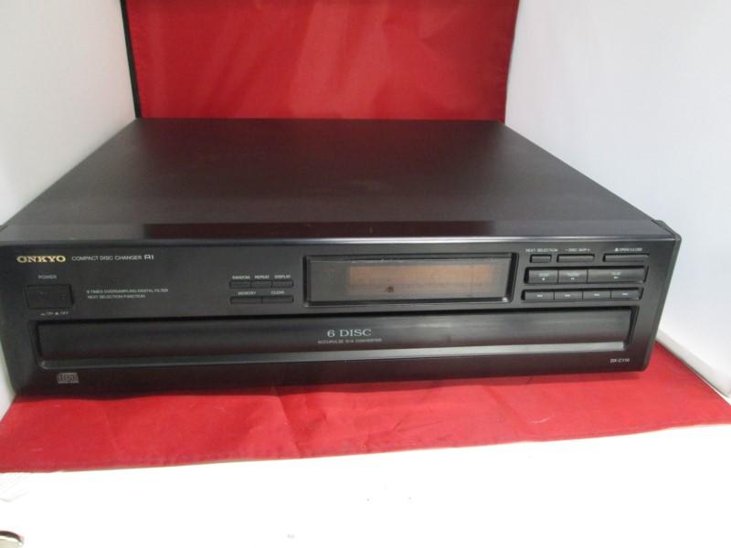 ONKYO CD Player & Recorder DX-C110
