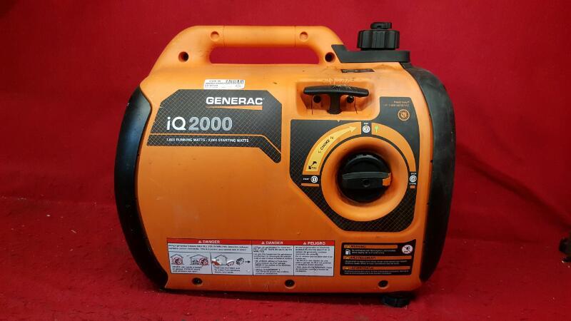 GENERAC Generator IQ2000 2000 Watts - Ultra Quiet