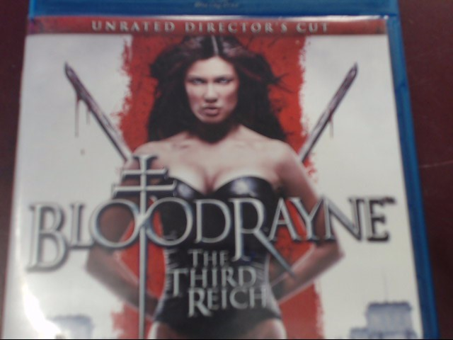 BLU-RAY - BLOODRAYNE THE THIRD REICH