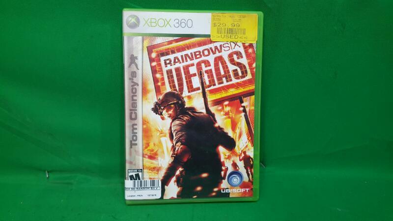 MICROSOFT Microsoft XBOX 360 Game RAINBOW SIX VEGAS
