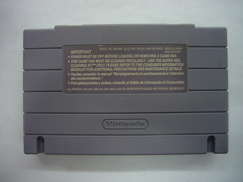 NINTENDO SNES Game MLBPA BASEBALL *CARTRIDGE ONLY*