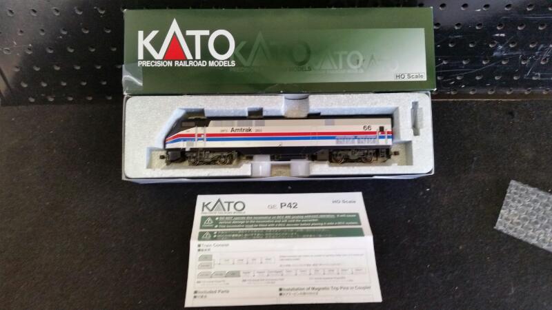 Kato Trains GE P42 40th Anniversary Paint Phase II #66 | #37-6105 Model Train