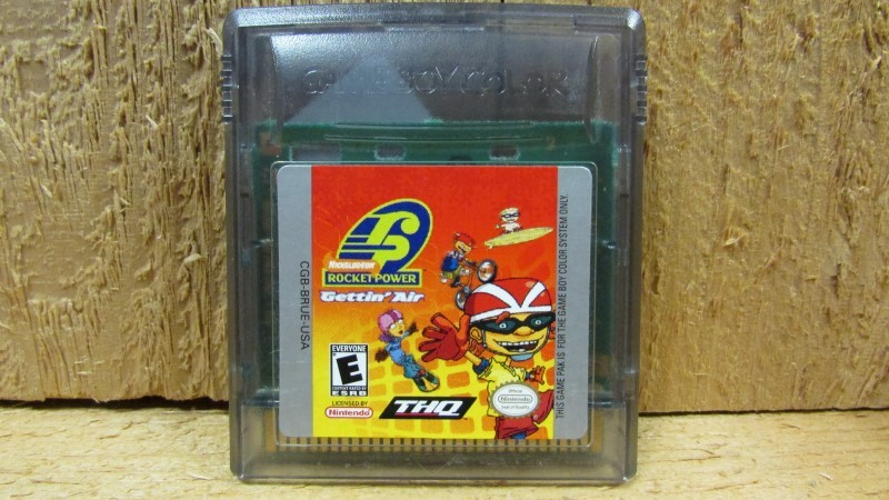 NINTENDO Vintage Game ROCKET POWER GETTIN AIR - GAME BOY COLOR