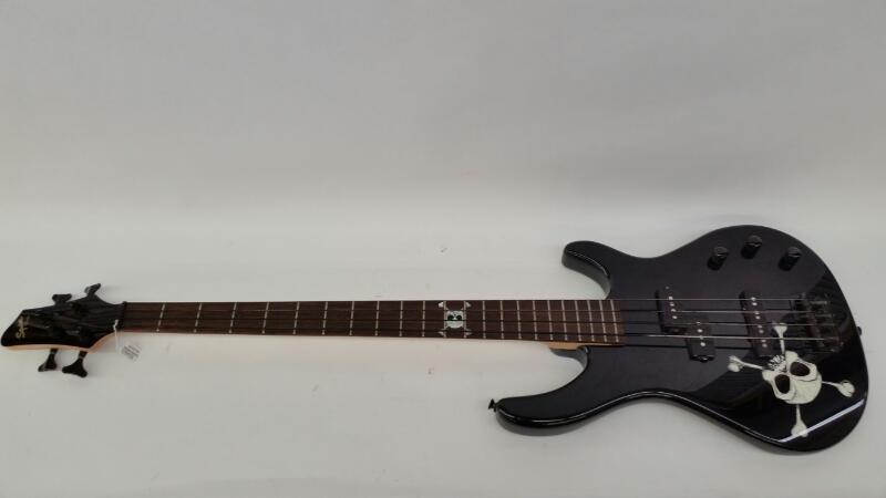 Fender Skull Bass Guitar