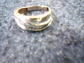 Gent's Gold-Diamond Wedding Band 5 Diamonds .50 Carat T.W. 14K Yellow Gold 3.5g