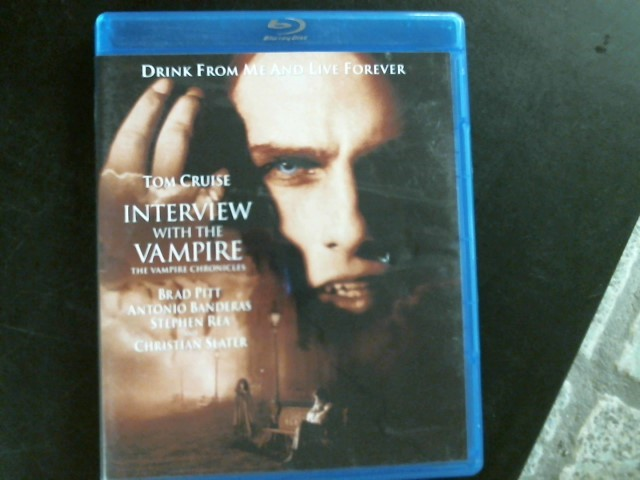 BLU-RAY MOVIE Blu-Ray TOM CRUISE INTERVIEW WITH THE VAMPIRE