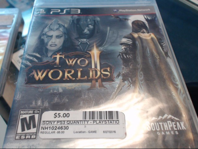 SONY PS3 TWO WORLDS