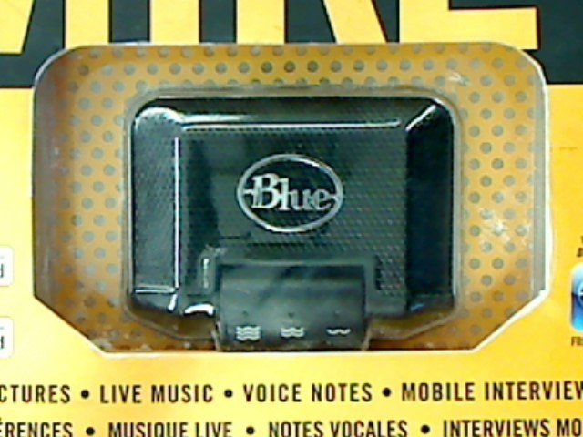 BLUE MIKEY IPOD MICROPHONE