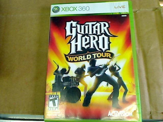 XBOX 360 - GUITAR HERO WORLD TOUR