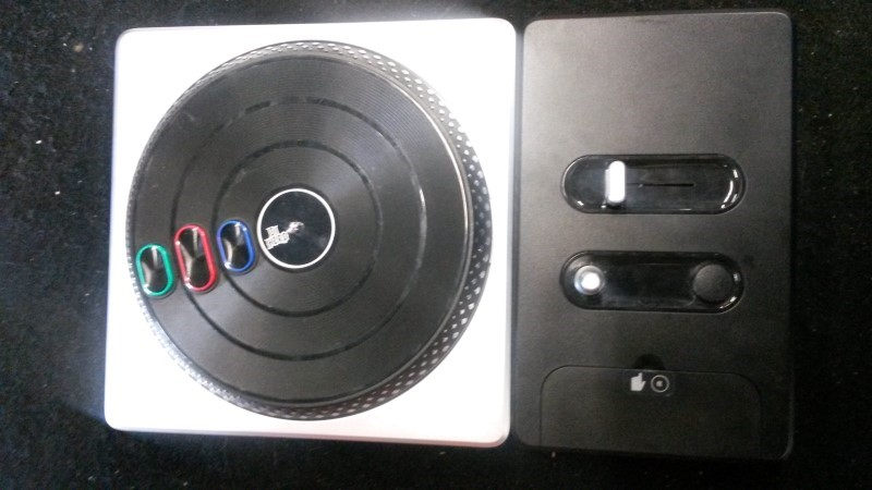 MICROSOFT Microsoft XBOX 360 Game DJ HERO TRUNTABLE CONTROLLER