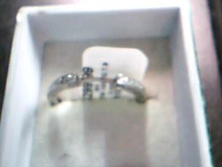 Lady's Diamond Wedding Set 63 Diamonds 1.03 Carat T.W. 14K White Gold 7.98g