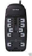 "CYBERPOWER ""One of a kind"" HOME OFFICE SURGE PROTECTOR CYBER POWER HOME OFFICE S"