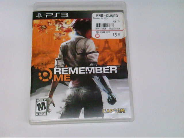 SONY PS3 REMEMBER ME
