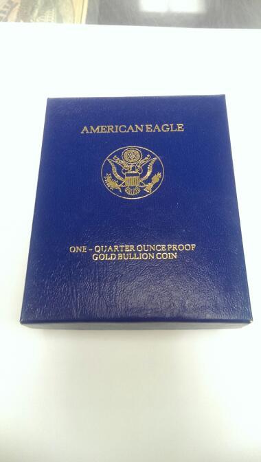 1997 AMERICAN EAGLE $10 1/4 OUNCE GOLD COIN