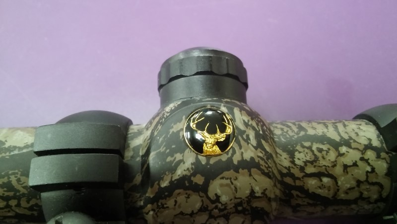 BUCK MASTER MOSSY OAK CAMO RIFLE SCOPE