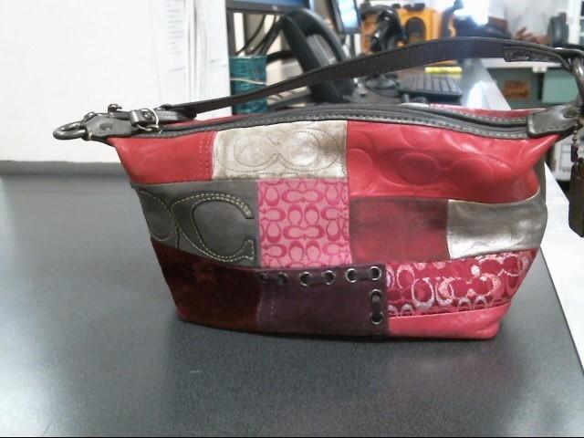 COACH Handbag PATCHWORK HANDBAG 11711