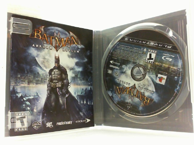 SONY Sony PlayStation 3 Game BATMAN ARKHAM ASYLUM
