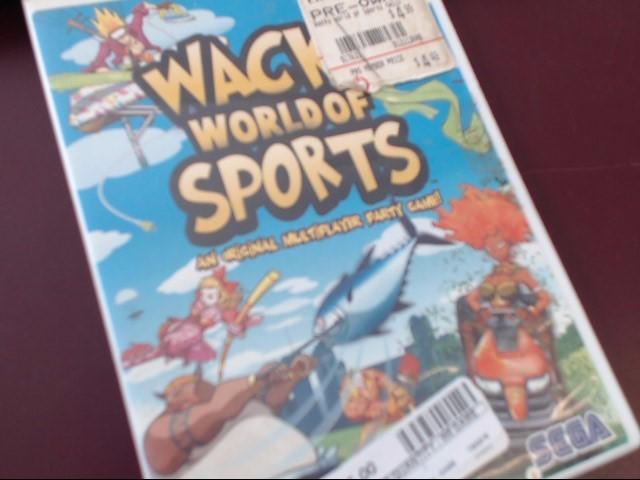 WII WACKY WORLD OF SPORTS